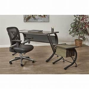Pro line ii black progrid manager office chair 27284 the for Home depot furniture line