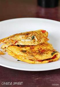 Simple cheese omelette recipe   How to make cheese omelet ...