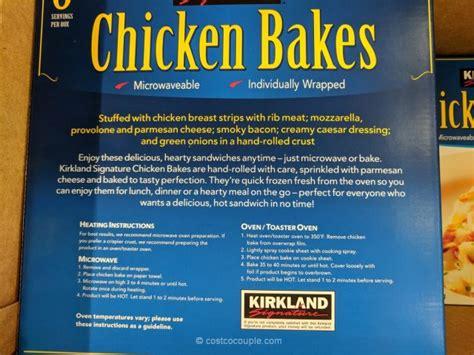 chicken kirkland bakes costco signature