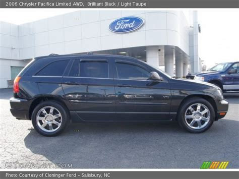 2006 Chrysler Pacifica Limited by Brilliant Black 2006 Chrysler Pacifica Limited Awd