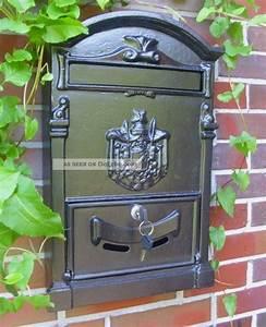 Briefkasten Holz Antik : wand briefkasten postkasten antik cottage stil aluguss alu wandbriefkasten ~ Sanjose-hotels-ca.com Haus und Dekorationen