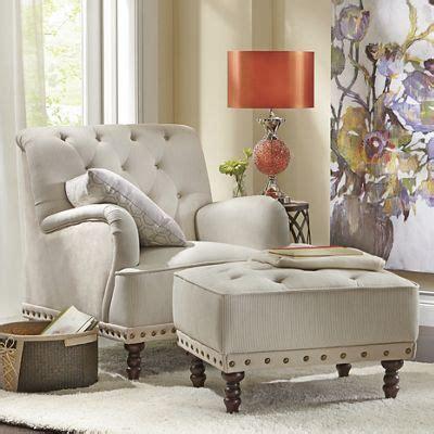 tufted accent chair  nailhead ottoman chair ottoman