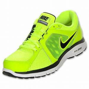Neon Green Nike Running Shoes