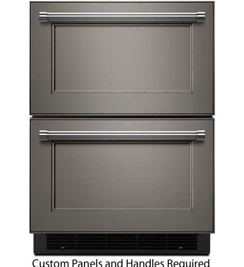 kitchenaid refrigerator drawers kitchenaid 24 quot refrigerator freezer drawer kudf204epa
