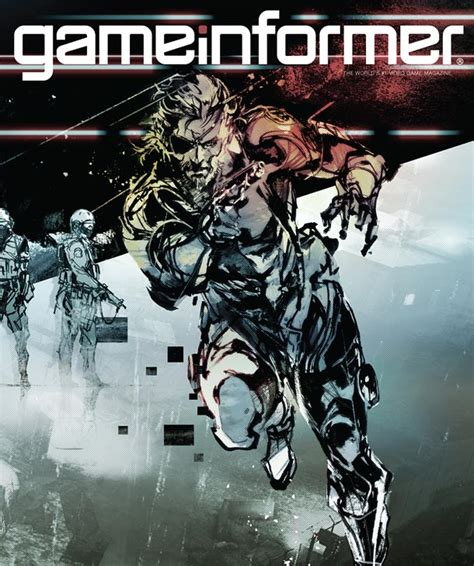 Informer Metal Cover by March Cover Revealed Metal Gear Solid V News Www