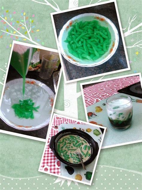 Cara membuat cendol nutrijell : Resep Dawet Hangat + Es Dawet Tepung Beras Kanji