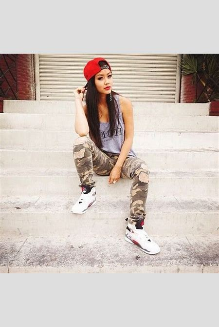 30 Cute Outfits Ideas to Wear with Jordans for Girls Swag