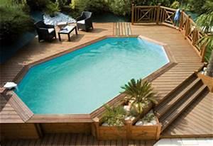 fevrier 2014 With construction piscine hors sol en beton 6 piscine hors sol quottropicquot de poolmaster