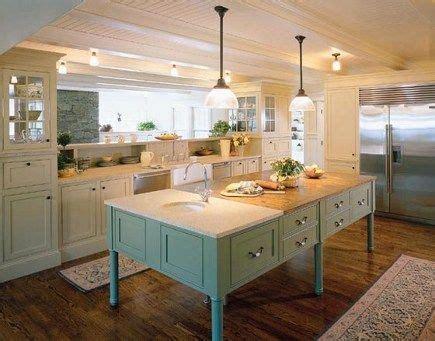 white cabinets bluegreen island diy kitchens