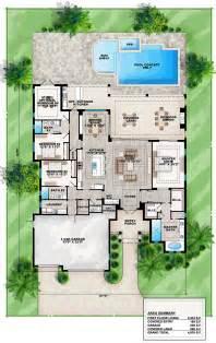 home layout coastal florida mediterranean house plan 75965 house plans house and florida