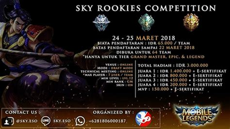 Sky Rookies Competition