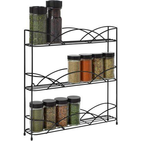 Counter Top Spice Rack by Spectrum Diversified Designs Countertop 3 Tier Spice Rack