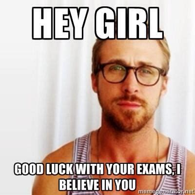 Ryan Gosling Finals Meme - ul student trinity woods accidentally emails entire student body in search of study guide during