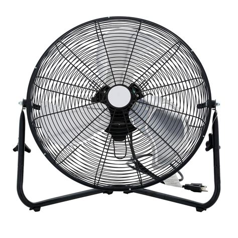 home depot large fans 20 in 3 speed high velocity floor fan sfc1 500b the