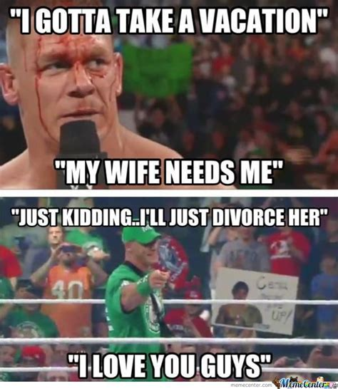 Funny John Cena Memes - wwe trolls of the day july 9
