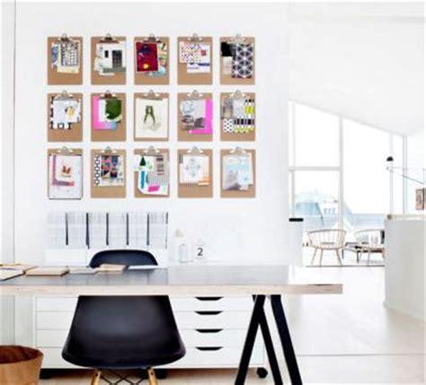 porte papier bureau 10 idées déco pour afficher ses photos avec originalité