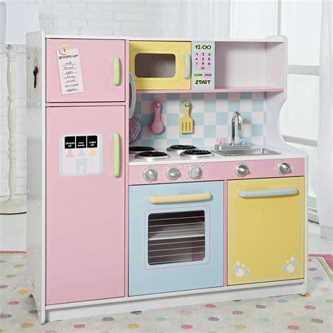 KidKraft Deluxe Pastel Play Kitchen   53181   Play