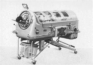 Ventilation Of A Patient With An Iron Lung   C Dr U00e4gerwerk