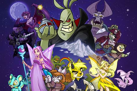 Neopets Animated Series Will Launch In Fall 2021 The Verge