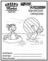 Coloring Corner Sheets Summer Greer Kid Sheet Uploaded sketch template