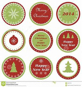 Christmas Cupcake Toppers Royalty Free Stock Photo - Image