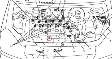 Suzuki Aerio 2 0 Engine Diagram by Solved Can Somebody Tell Me Where Is The Knock Sensor Fixya