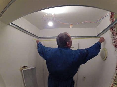 pose spot led plafond schema pose spot faux plafond