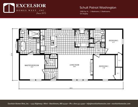 Schult Patriot Washington Manufactured Home Excelsior