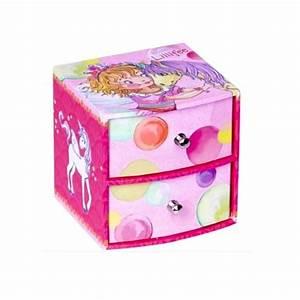 Boite A Bijoux Enfant : petite boite bijoux pour fille 2 tiroirs avec f e et licorne cavacado ~ Teatrodelosmanantiales.com Idées de Décoration