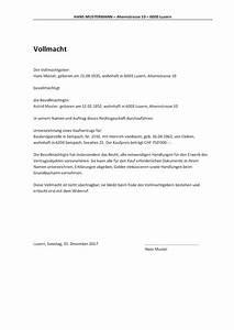 Was Heißt Auf Rechnung Bestellen : vollmacht vorlage schweiz word format muster ~ Themetempest.com Abrechnung