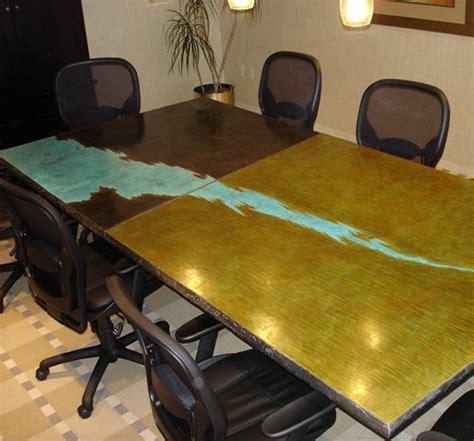 concrete office furniture conference tables desks