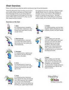 8 best images of printable chair exercises senior chair