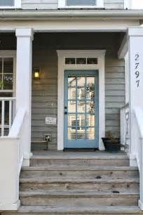 moulding front porch cozy great porch the worn wood white trim and blue door