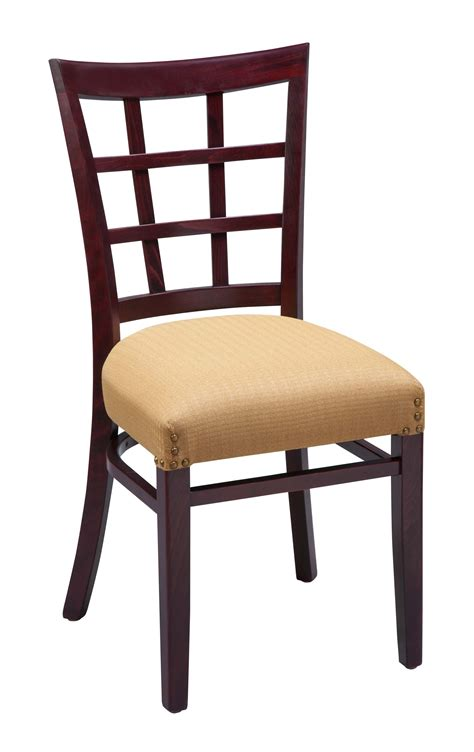 regal 411fus lattice back wood dining chair chairs by