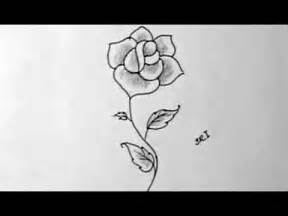 Easy to Draw Pretty Flowers Drawing