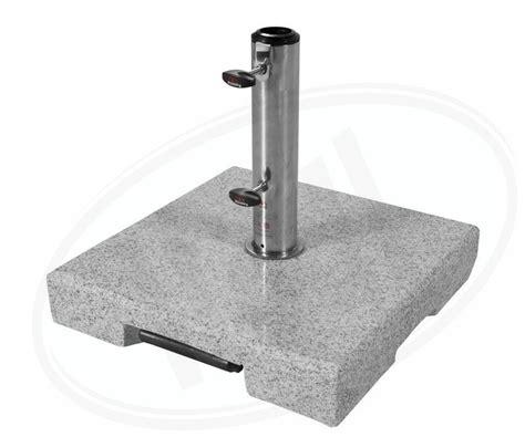 sonnenschirmständer 50 kg active 50 kg granit trolley sonnenschirmst 228 nder mit rollen