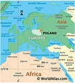 Poland Latitude, Longitude, Absolute and Relative ...