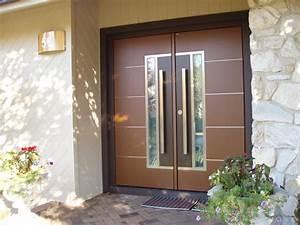 European double front door - Contemporary - Entry - New