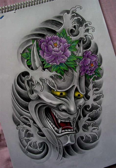 Griffe Tattoo Tattoo Máscara Japonesa Hannya