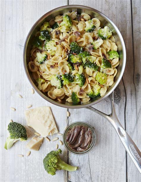 cuisine brocolis one pot pasta orecchiette brocoli et anchois pour 3