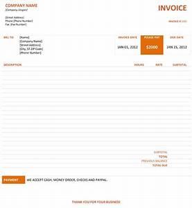 graphic design invoice With pre printed invoices templates