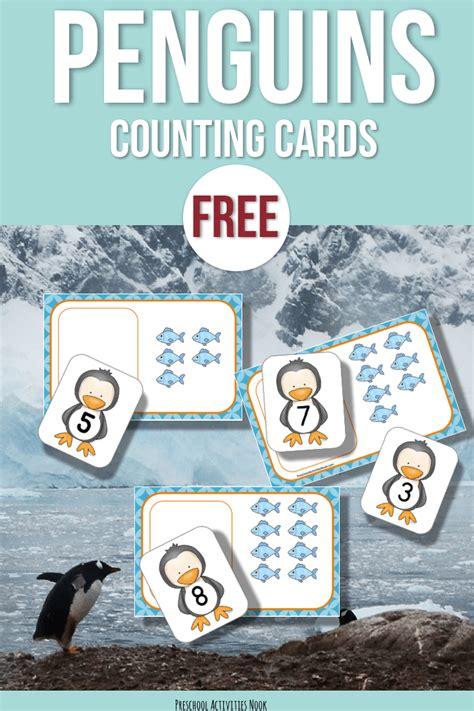 penguin preschool theme free penguins and fish counting preschool activities nook 619