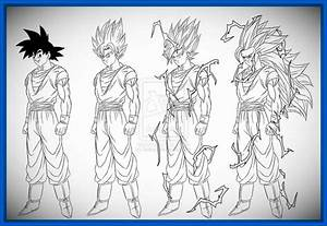 imagenes de goku para dibujar de fase 4 Archivos   Dibujos ...