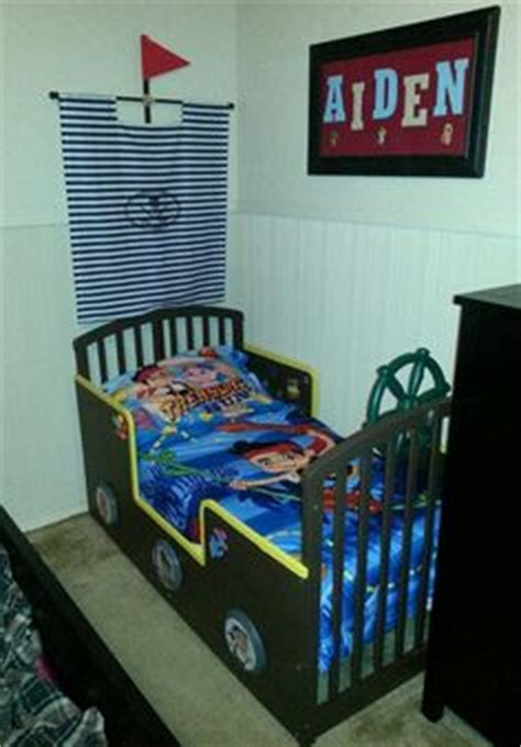 jake and the neverland toddler bed pirate bedroom on pirate bedroom