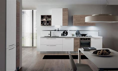 cuisine moderne blanche et bois cuisine moderne italienne blanche et bois