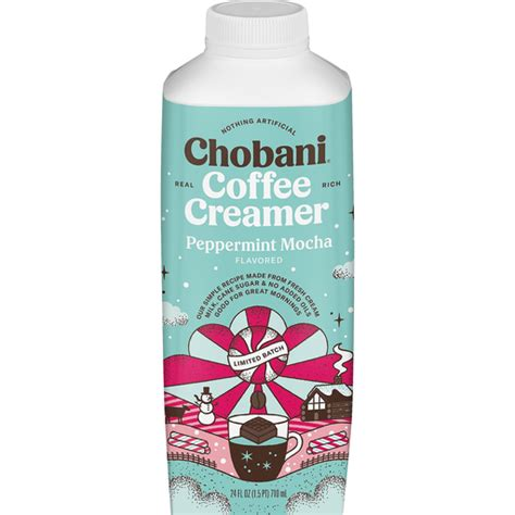 This easy layered peppermint mocha cheesecake dip will be the star of all your holiday parties! Chobani® Peppermint Mocha Coffee Creamer 24 fl. oz. Bottle   Casey's Foods