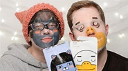 Face Shop Kakao Friends Character Sheet Mask   #FaceMaskFriday 32   CORRIE SIDE - YouTube