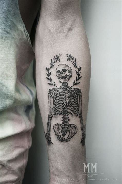 Skeleton Tattoo Designs More Different Types