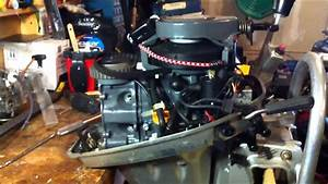 2005 Honda Bf8a Outboard Water In The Oil Part 1 Of N