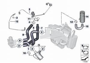 Original Parts For F01 740i N54 Sedan    Heater And Air